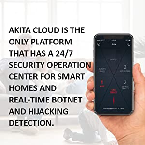 Akita - Cyber IoT Security Device - Protect Your Privacy, Smart Home, and  IoT Devices from Botnet, Cryptojacking and AI-Powered Attacks in 5 Easy