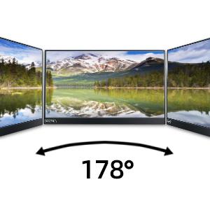 178° Full Vision Angle