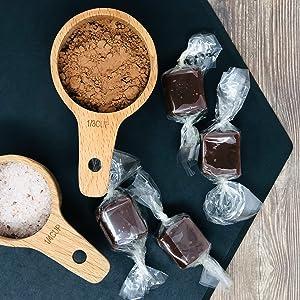 Chocolate Honey Caramels