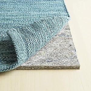 1/2 inch felt rug pad