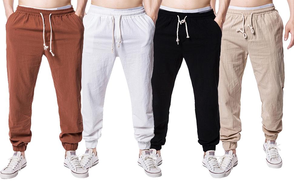 Mens joggers yoga pants