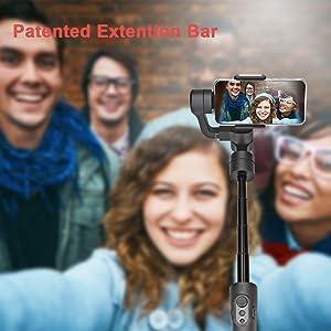 feiyuTech Vimble2S gimbal stabilizer extension rod selfie stick