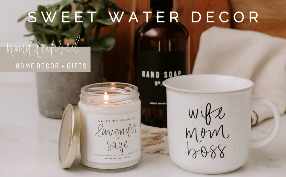 sweet water decor home coffee mugs soy candles blankets hand towels turkish matches soap dispensers