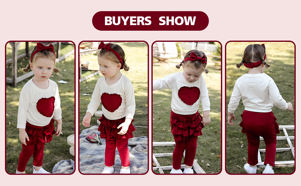 baby girl outfit fall winter christmas