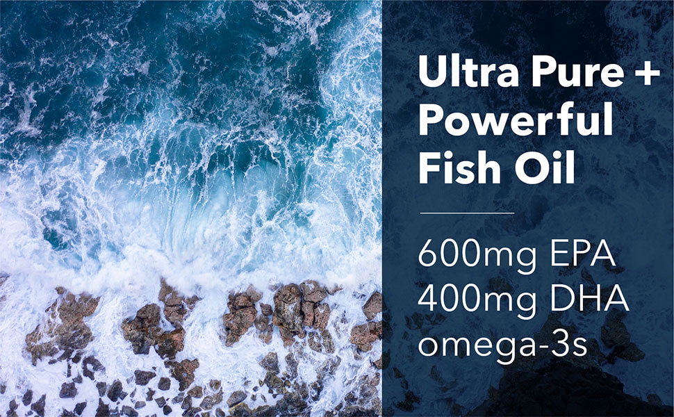 Ultra Pure, Powerful Fish Oil