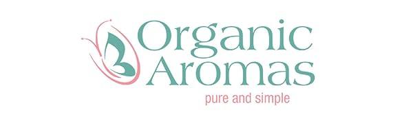 organic aromas logo essential oil nebulizing diffuser
