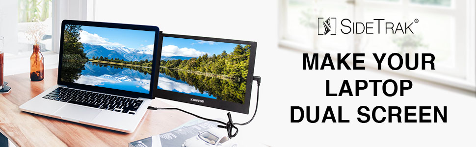 SideTrak, attachable and portable monitor