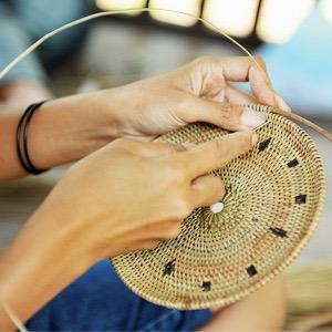 Bali Harvest Handmade Ata Rattan Bag Crossbody Wicker