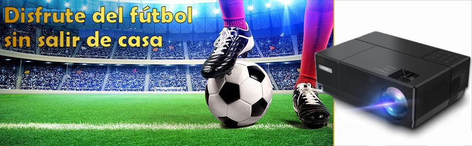 luximagen fuhd230, disfrute del futbol sin salir de casa, proyector 4k, full hd, nativo, cine, serie