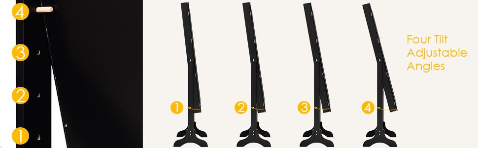 Four Tilt Adjustable Angles