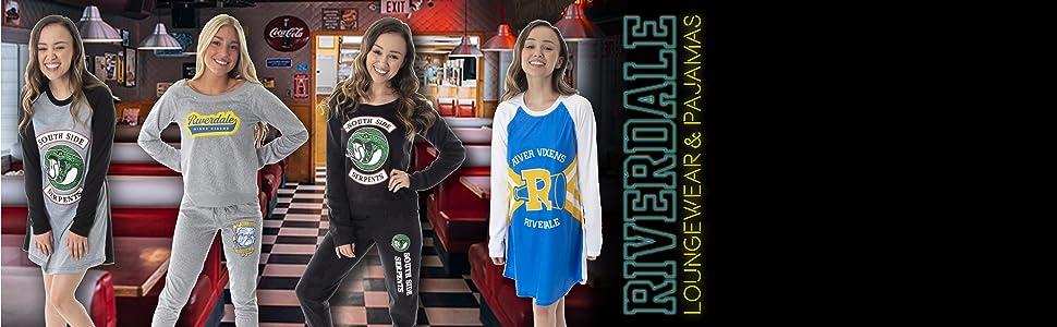 Riverdale Pajama top nightgown loungewear joggers