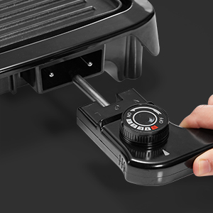 electric griddle grill indoor non stick coating smokeless extra large 2 in 1