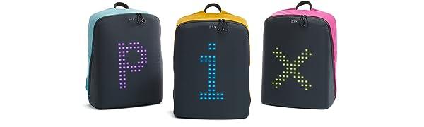 Pix LED backpack
