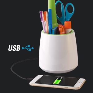 USB Charging Port Charges Phones Tablets 5V, 2.1A