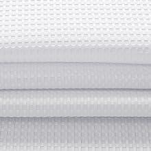Dobby Fabric weiß