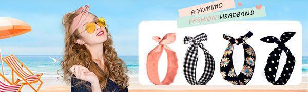 Aiyomimo Fashion Headband
