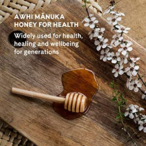 awhi manuka honey for health wellness