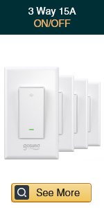 Smart 3 Way Switch-4 Pack