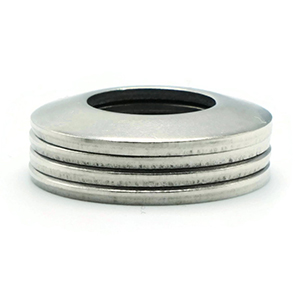 parallel stack conical washers