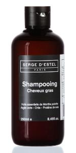 Shampoo purificante per capelli grassi, 250 ml, serge di estello Paris