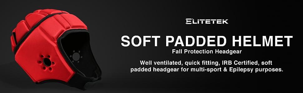Soft Padded Helmet by EliteTek
