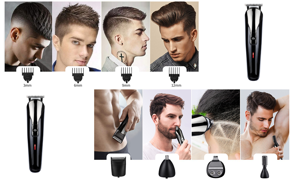 how to use hair trimmer
