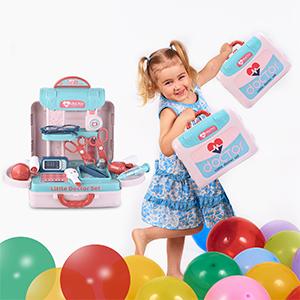 baby toy doctor medical set kit kids nurse doctor kit set for girls doctor playset nurse clipboard