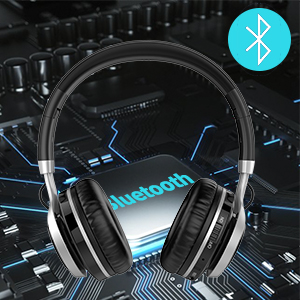 headphonesWireless and Wired Bluetooth Headphones with Mic