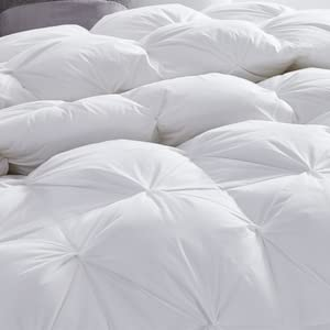 goose down comforter hypoallergenic fluffy noiseless goose down comforter