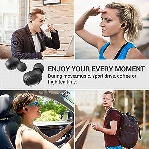 wireless earbud bluetooth 5.0
