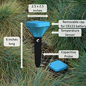 Amazon Com Plaid Systems Spruce Irrigation Soil Moisture Sensor Gen 3 Garden Outdoor