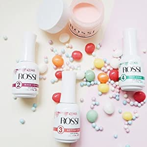 Rossi nails dip powder essentials kit
