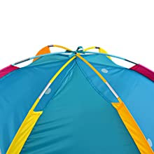 top of the tent