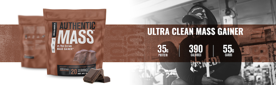 Authentic Mass Ultra-Clean Mass Gainer