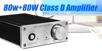 80Wx2 Class d amplifier