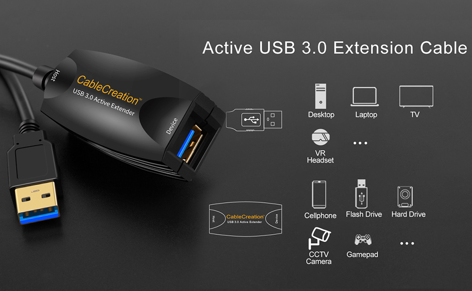 5m USB 3.1 Gen 1 to Type C Cable Designed for Oculus Quest Link
