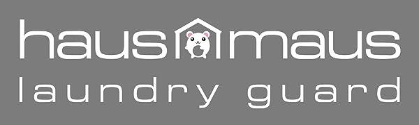 haus maus,laundry guard,logo