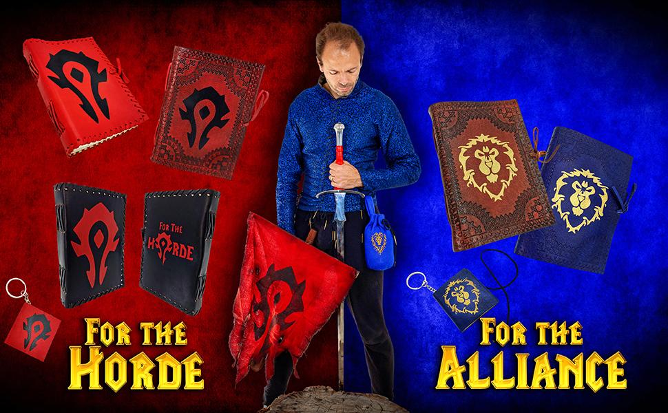World Warcraft MMORPG Video games goodies WOW death knight Arthas Legion elf diary notebook journal