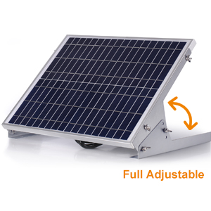 BC-20W solar battery charger with mppt charge controller