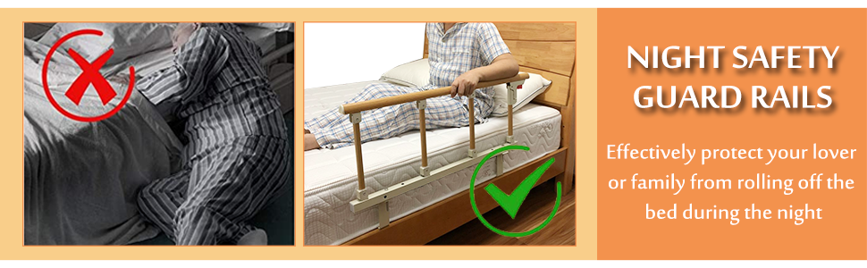 bed safety rails for seniors elderly adults