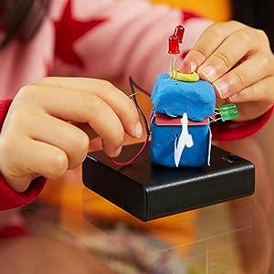Stem, Electro Dough, Play Doh, fantasy, Toy, Educational