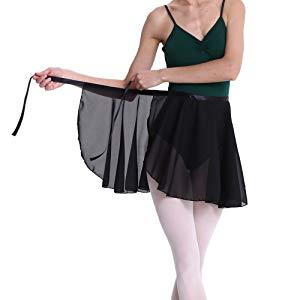 GOGO TEAM falda envolvente para niños y adultos, transparente ...