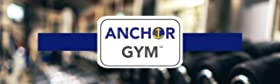 exercise hook workout band gym anchor wall room