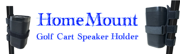 Home Mount Golf Cart Speaker Mount