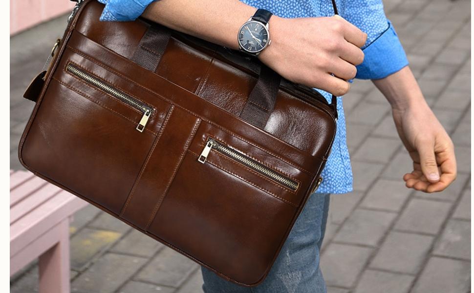 business taschen herren handtasche leder aktentasche