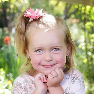 Silver Baby Birthstone Ring for Children
