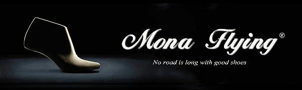 Mona flying Mules en Veritable Cuir Femme Chaussures