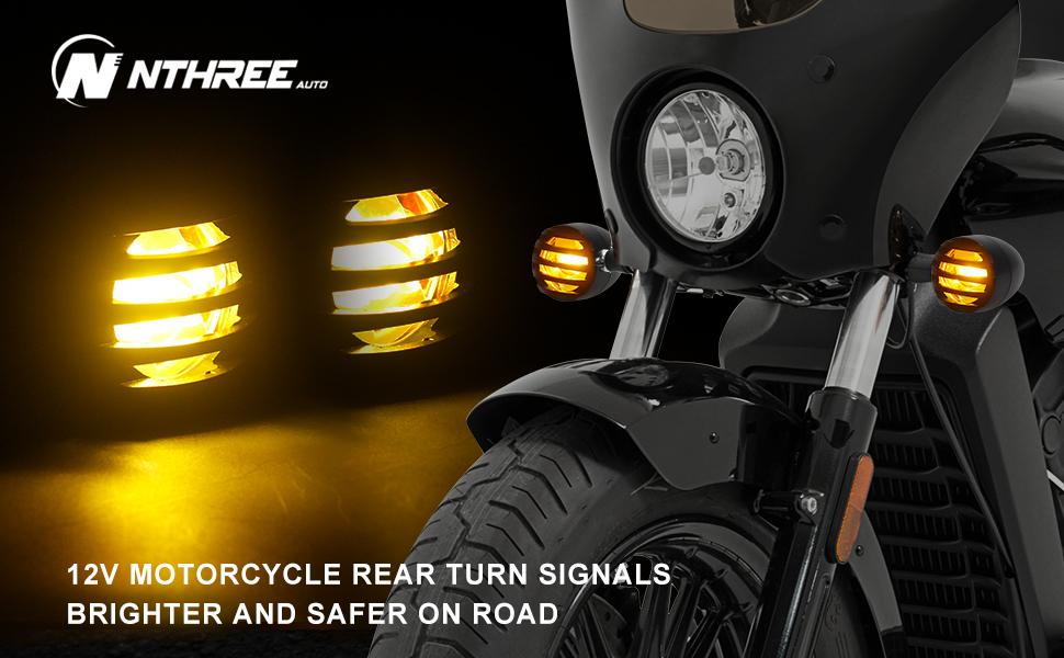 harley led turn signals universal motorcycle blinkers 12v red indicators honda yamaha kawasaki
