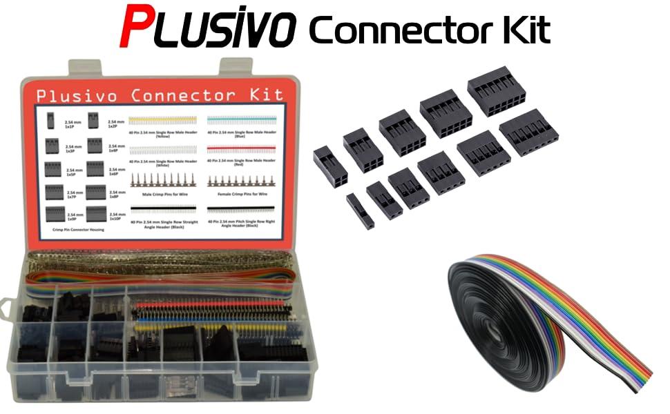 115pc Dupont sets Kit with box 1P//2P//3P//4P//5P//6P//2*2//2*3//2*4// 2*5Pin Housing Pla