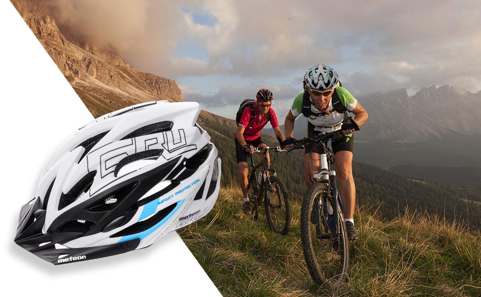 meteor® Casco Bicicleta Helmet de Bici para jóvenes y Adultos para ...